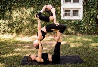 Zirkus Yoga für Kids