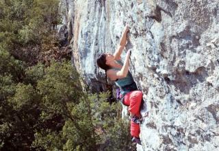 Nix als Klettern im Kopf