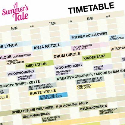 Timetable, Workshop-Anmeldung und App veröffentlicht